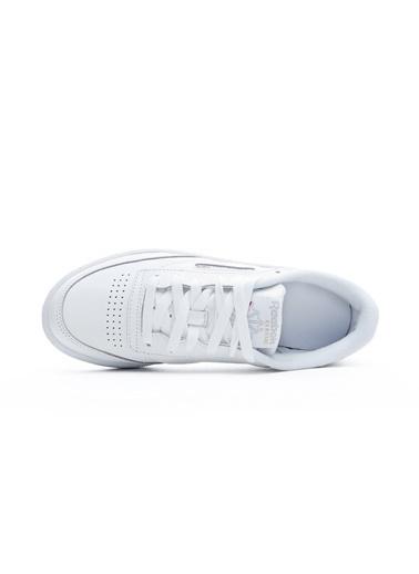 Reebok Kadın Beyaz Club C 85  Sneakers BS7686. Beyaz